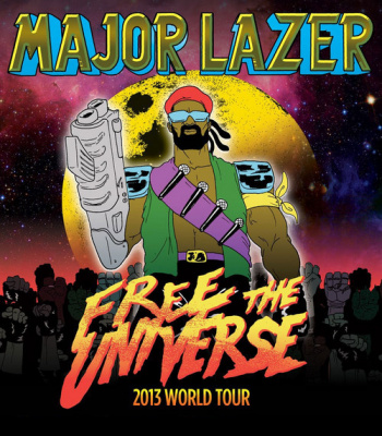 Festival Les Inrocks 2013 : Major Lazer, Rocky et Holly Siz à l'Olympia