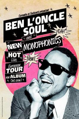 Ben l'Oncle Soul & Monophonics à La Cigale en décembre 2013