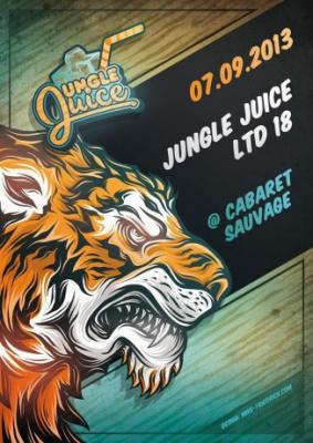 Jungle Juice au Cabaret Sauvage avec Camo & Krooked vs Youthstar