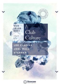 Club Culture au Showcase avec Lee Curtiss