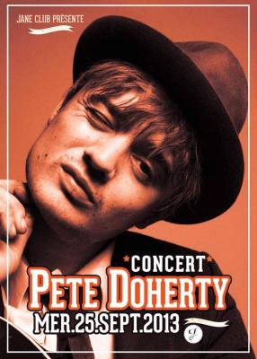 Peter Doherty en concert intimiste au Jane Club