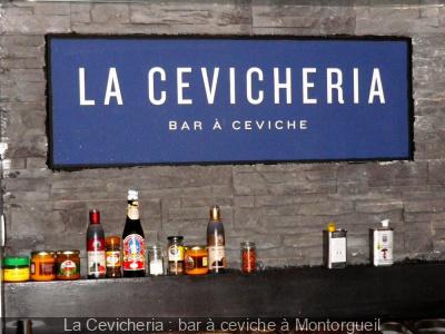 La Cevicheria : bar à ceviche à Montorgueil