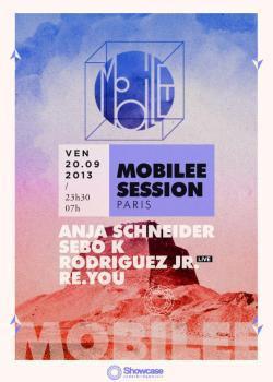 Mobilee Session Paris au Showcase avec Rodriguez Jr.