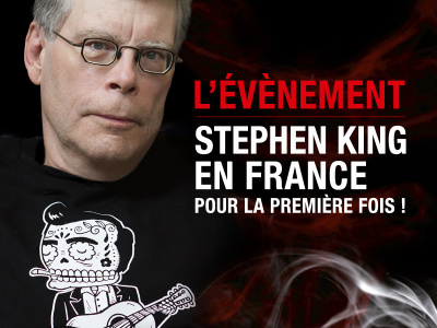 Stephen King en rencontre exceptionnelle au Grand Rex