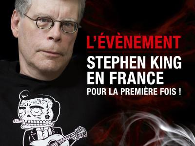Stephen King en rencontre exceptionnelle au Grand Rex