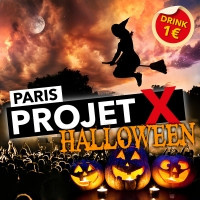 Projet X Halloween Party 2013 au Back Up