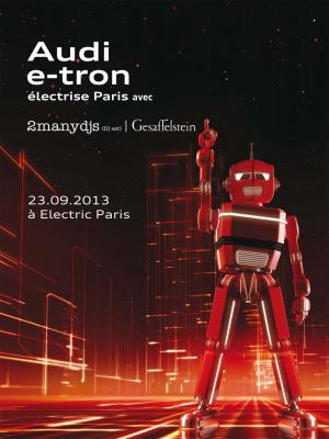 Audi e-tron électrise Paris