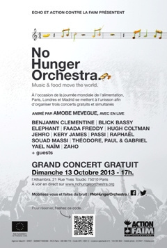 No Hunger Orchestra à Paris : concert gratuit à l'Alhambra
