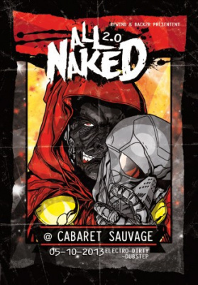 All Naked au Cabaret Sauvage avec Cyberpunkers