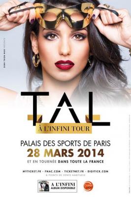 Tal en concert au Palais des Sports de Paris en 2014