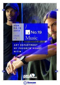 NO.19 Music au Showcase avec Art Department