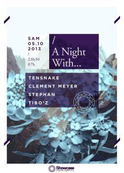 A Night with… Tensnake au Showcase