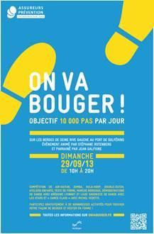 """""""On va bouger ! Objectif 10 000 pas par jour"""" : animations gratuites sur les Berges de Seine"""