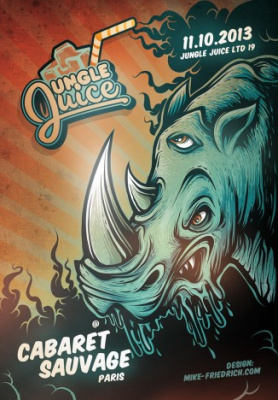 Jungle Juice LTD 19 au Cabaret Sauvage avec Wilkinson feat Visionobi
