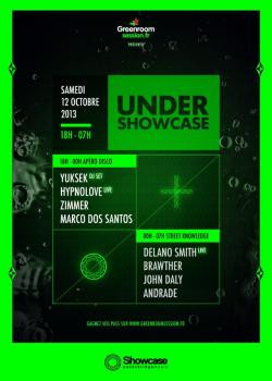 Under Showcase avec Yuksek et Delano Smith