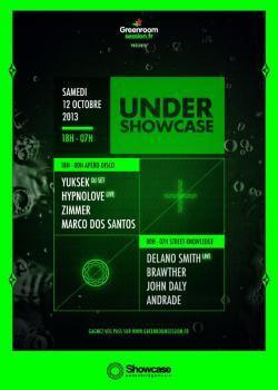 Under Showcase avec Yuksek et Delano Smith