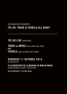 Exploration à la Machine du Moulin Rouge avec Truss et Tessela