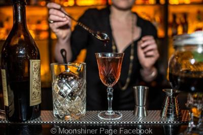 Le Moonshiner : le bar à cocktails caché