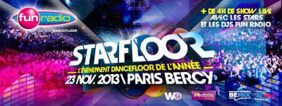 Starfloor 2013 à Paris Bercy