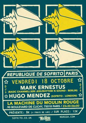 République de Sofrito à la Machine avec Mark Ernestus & Hugo Mendez