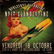 Paris Burlesque Festival 2013 à La Bellevilloise : La Nuit Clandestine