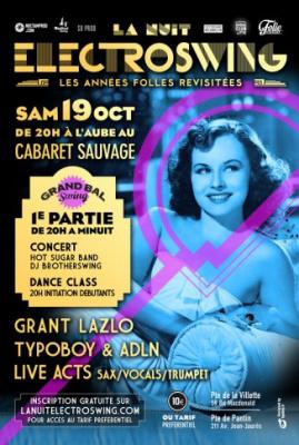La Nuit Electroswing au Cabaret Sauvage : Les Années Folles revisitées