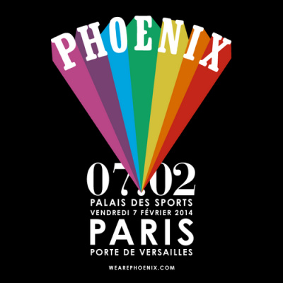 Phoenix en concert unique au Palais des Sports de Paris en 2014