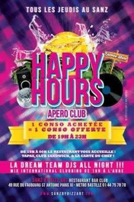 Happy Hours - Apéro Club