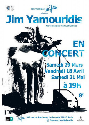 JIM YAMOURIDIS - THE TRUE BLUE SKIES / Apéro Musical