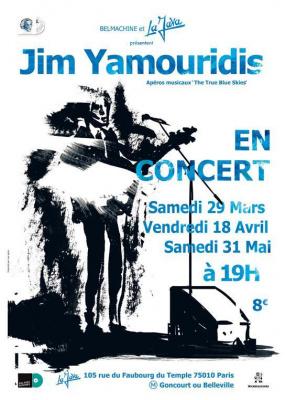 JIM YAMOURIDIS - THE TRUE BLUE SKIES / Apéro Musical