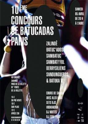 10ème Concours de Batucadas de Paris
