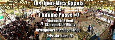 Open-Mic Géant de l'Infâme Posse #7