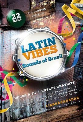 Soirée Latin vibes #2 : SOUNDS OF BRASIL !