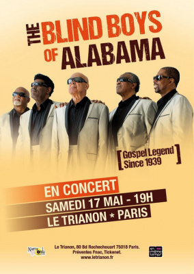 The Blind Boys Of Alabama en Concert unique à Paris