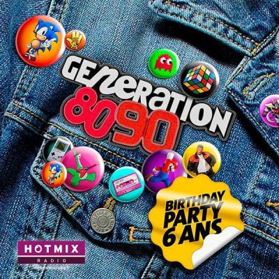 GENERATION 80-90 fête ses 6 ANS au BATACLAN