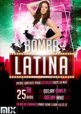 Bomba latina - entrée gratuite @Mix club