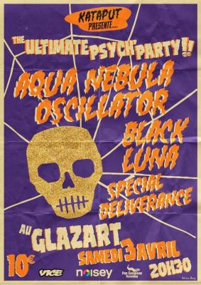 Aqua Nebula Oscillator + Black Luna + Special Deliverance