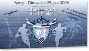 Eden Park Beach Rugby
