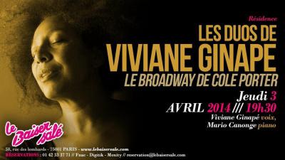 Le Broadway de Cole PORTER - Les duos de Viviane GINAPE