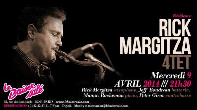 RICK MARGITZA 4Tet - Résidence