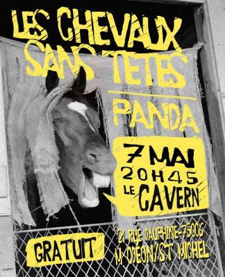 PANDA + Les Chevaux Sans Têtes