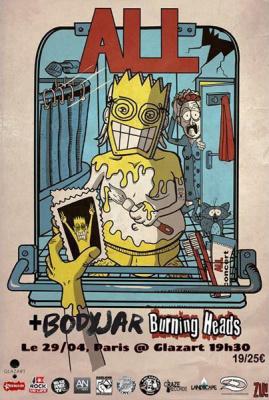 All + Bodyjar + Burning Heads
