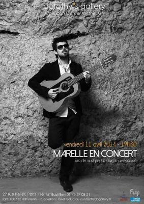 Concert du Trio Marelle, musique jazz latino-américaine