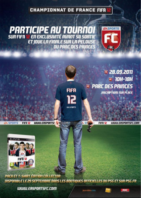 Tournoi EA SPORTS FC, le championnat officiel FIFA 12