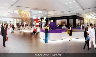Ouverture centre commercial QWARTZ