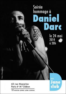 Concert Hommage A DANIEL DARC