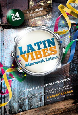 Latin vibes #3 - L'AFTERWORK LATINO