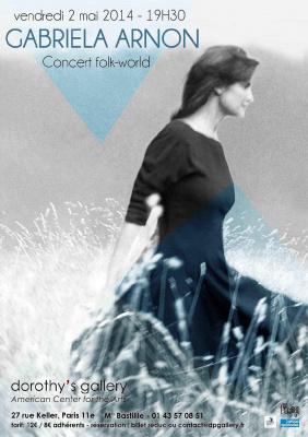 Concert folk-world de Gabriela Arnon