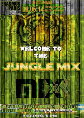 Erasmus Paris : Welcome to The Jungle Mix