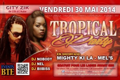 Tropical Party - Mighty ki La, Mel's